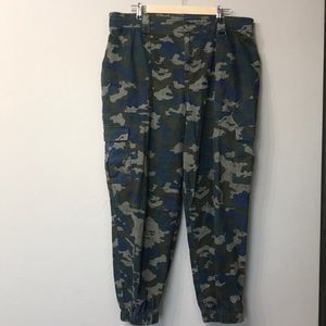 Wild fable cameo joggers size 1x.Blue and green.